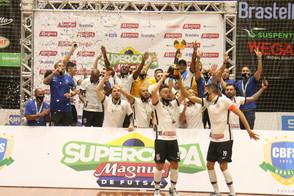 Fique por dentro de tudo sobre a Supercopa Magnus de Futsal.