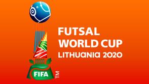 Emblema oficial revelada para a Copa do Mundo de Futsal da FIFA Lituânia 2020 ™