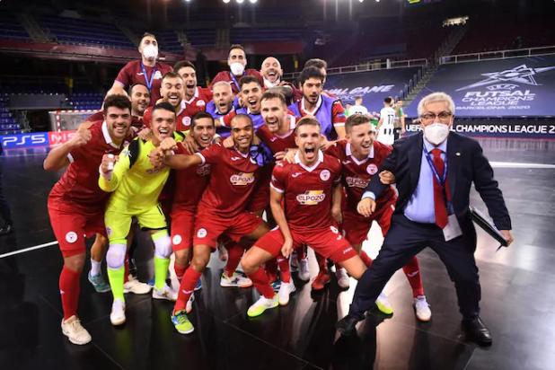 Crédito: Divulgação UEFA - Murcia enfrentará o Barcelona na decisão desse domingo.