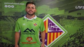 Marlon, reforço de nível para o novo projeto Palma Futsal