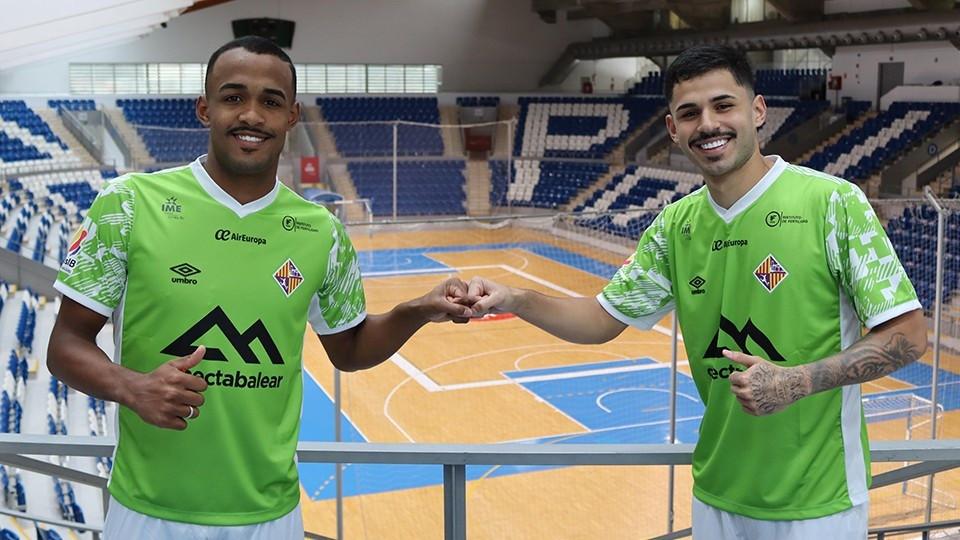 Crédito: LNFS - Higor e Daniel Airoso, dois novos reforços do clube