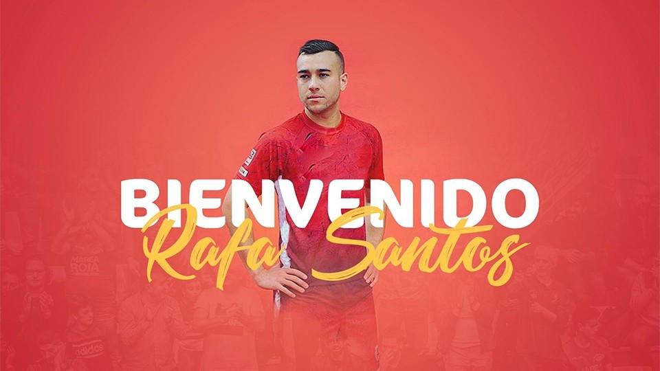 Crédito: LNFS - Rafa Santos, novo jogador do ElPozo Murcia Costa Cálida