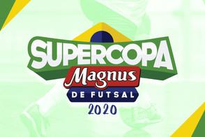 A cbfs divulga as datas e horários dos confrontos da Supercopa Magnus de Futsal