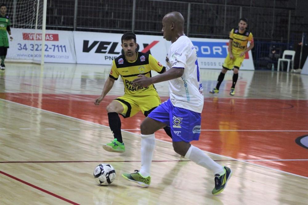 Crédito: Brenno Domingues - O Praia Clube conquistou a primeira vitória na competição, diante do São José