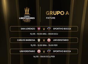 Conmebol divulga calendário da Libertadores