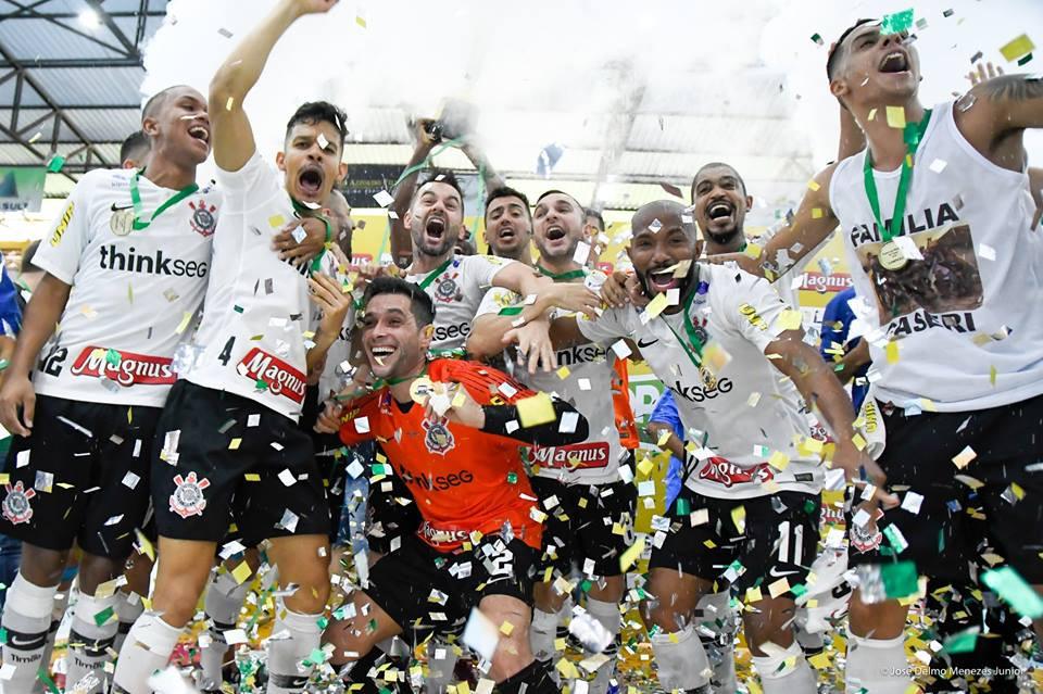 Crédito: José Delmo Menezes Junior - Corinthians é o atual campeão.
