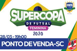 Ponto de Vendas SuperCopa Futsal Feminino