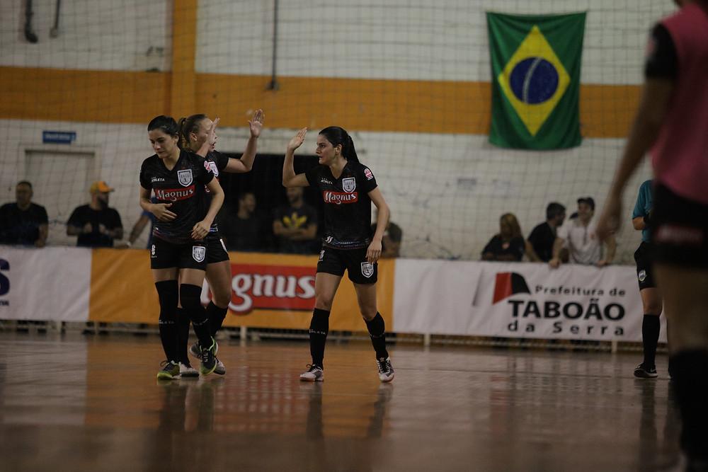 Crédito: Yuri Gomes - Pão abriu o placar para a equipe do Taboao Magnus