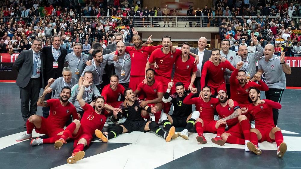 Crédito: UEFA - Atual campeã. Portugal irá defender o título no grupo 8