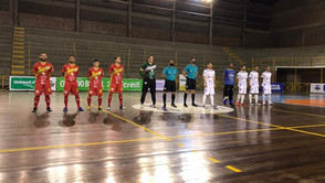Asec empata com o Itaporanga pela Copa do Brasil de Futsal