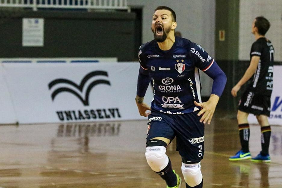 Crédito: Juliano Schmidt - Willian foi um dos destaques da campanha do Joinville na temporada