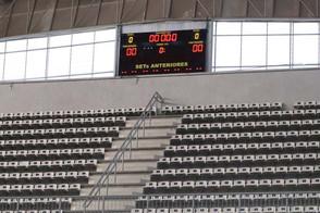 Arena Jaraguá tem estrutura recuperada após estragos causados por vendaval
