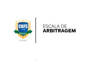 Equipe de arbitragem para a Dois Vizinhos e Ceará pela Copa do Brasil Sicredi