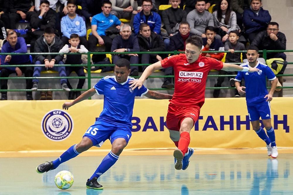 """Crédito: Divulgação - Na UEFA Futsal Champions League, o Cazaquistão será representado por """"Kairat"""" e """"Aktobe"""" da Almaty"""
