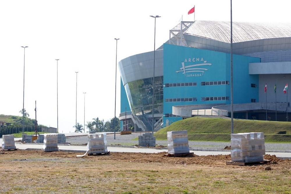 Crédito: Eduardo Montecino - Arena Jaraguá vem recebendo constantes melhoriasCrédito: Eduardo Monyrcino - Arena Jaraguá vem recebendo constantes melhorias