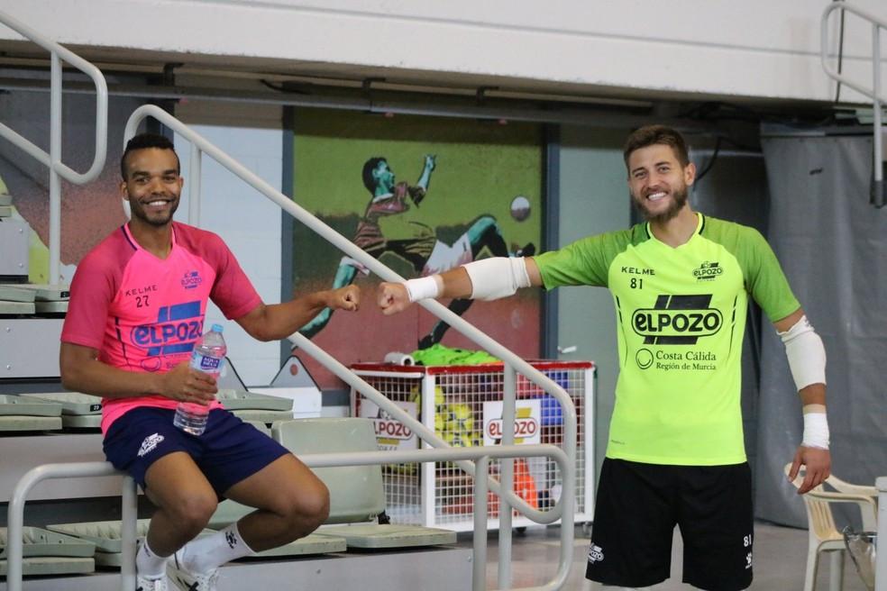 Crédito: ElPozo Murcia - Léo Santana disputa títulos nacional e continental pelo ElPozo Murcia
