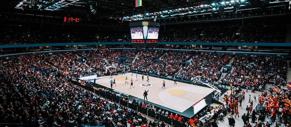 Crédito: Divulgação - A Vilnius Arena é a primeira arena esportiva multifuncional moderna de padrão internacional na Lituânia.