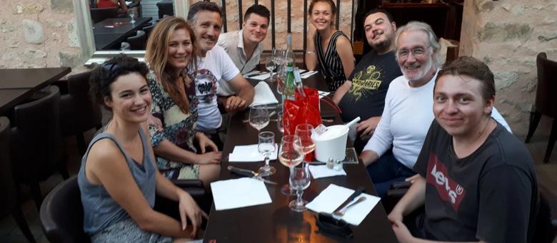 La série Draculi & Gandolfi en tournage en Île-de-France