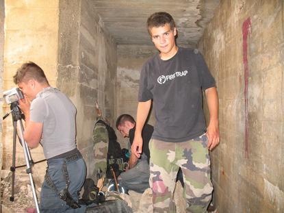 Le Studio Phocéen en tournage à Marseille le 9 août 2007