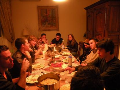 Le Studio Phocéen en tournage à Roquevaire le 22 février 2009