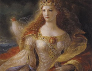 A new look for the site in honour of Eleanor of Aquitaine's royal progress
