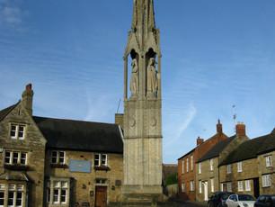Geddington - the first surviving cross