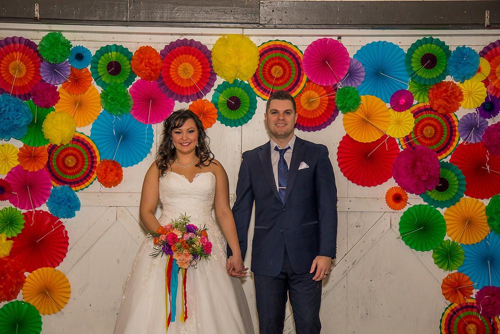 Eco Friendly Wedding | Bright Ceremony Decor | Snohomish Wedding Planner