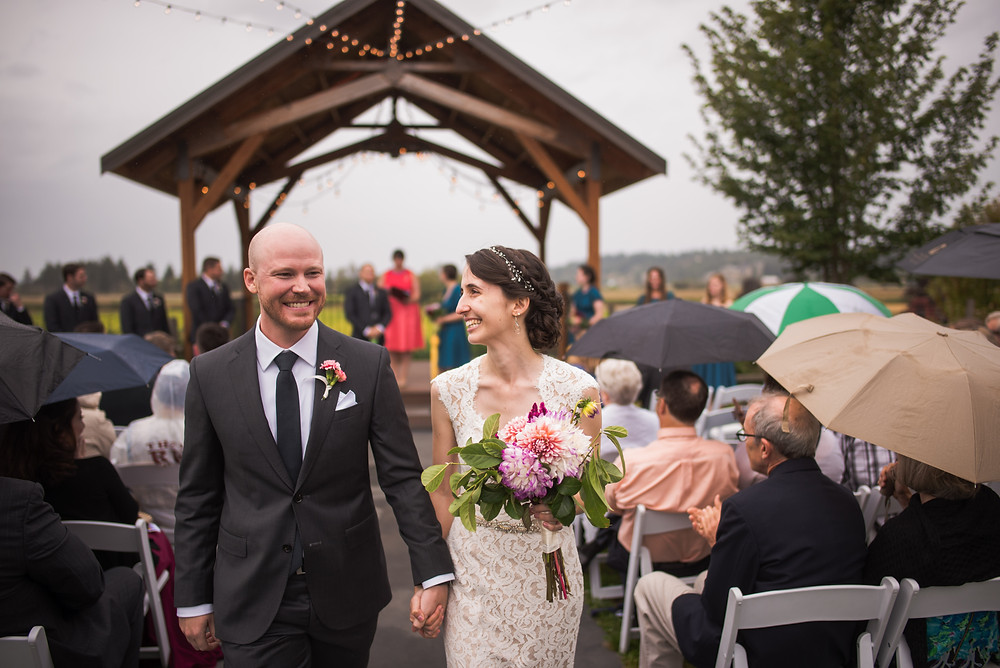 How to Choose Your Wedding Vendors without Price Shopping | Gazebo Wedding + Walk Down the Aisle | Snohomish Wedding Coordinator