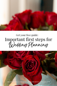 First Steps to Wedding Planning | Get Your Free Guide for Wedding Planning | Snohomish Wedding Coordinator