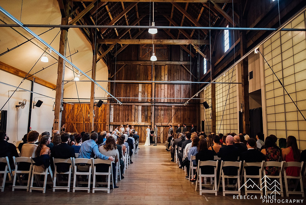 What Does a Wedding Party Do? | Pickering Barn Indoor Wedding Ceremony and Bridal Party | Snohomish Wedding Coordinator