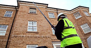 3 storey gutter cleaning sidmouth