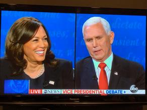 """Mr. Vice President, I'm speaking."""