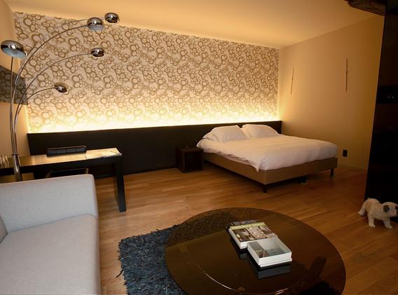 bed superior suite
