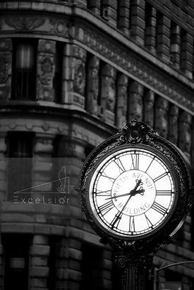 街頭の時計