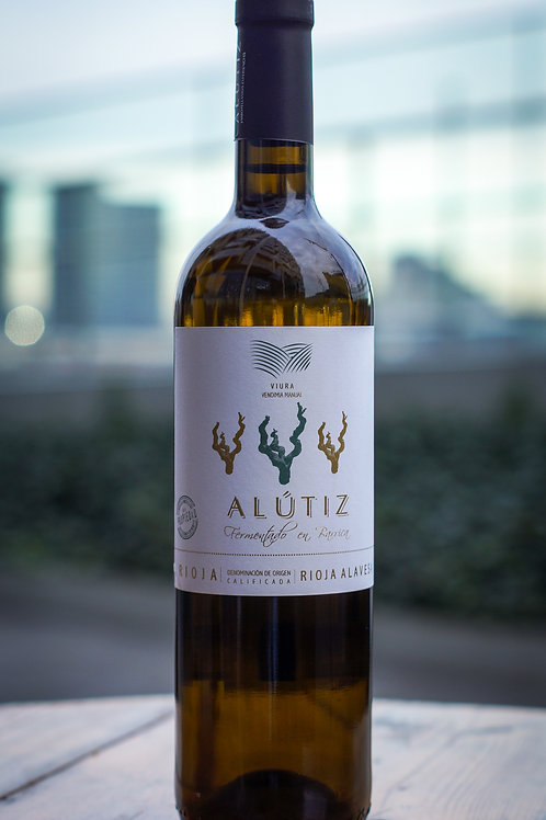 Alutiz, Blanco fermentado en Barrica, 2018