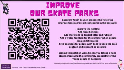 Improve your skateparks! We need U!!