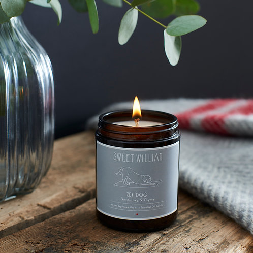 Sweet William Candle - Zen Dog