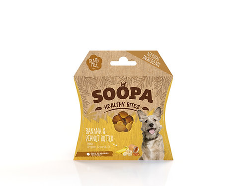 Soopa Healthy Bites - Banana & Peanut Butter