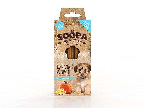 Soopa Banana & Pumpkin Puppy Sticks