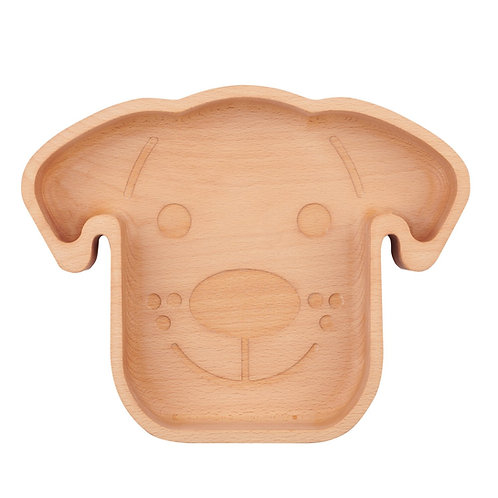 The Wood Life Project Wooden Dog Bowl
