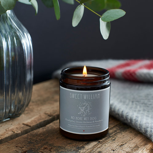 Sweet William Candle - No More Wet Dog