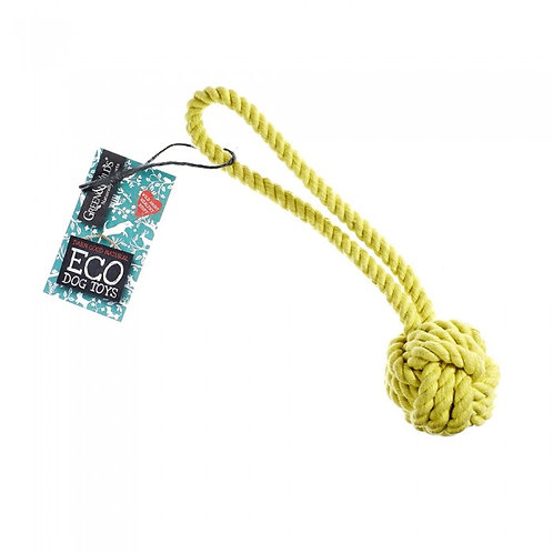 Green & Wilds Rope Ball