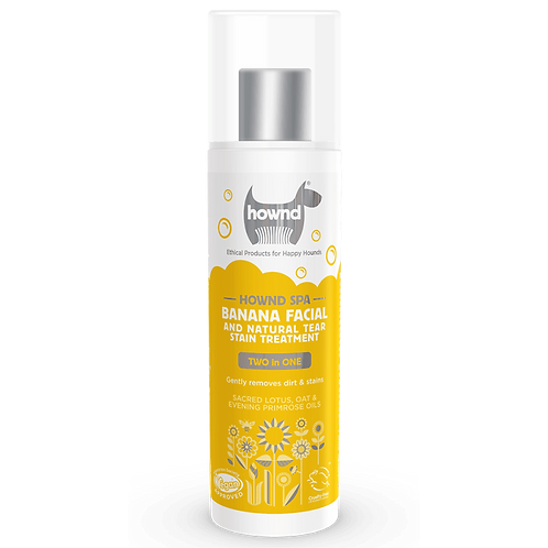 Hownd Banana Facial & Tear Stain Treatment