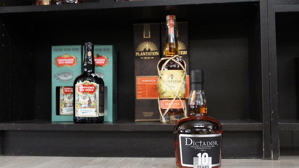 Rum Dictador 10 ans