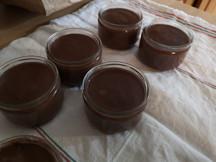 """Recette de """"Crèmes au chocolat"""" façon La laitière"""