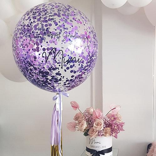 60cm confetti balloon