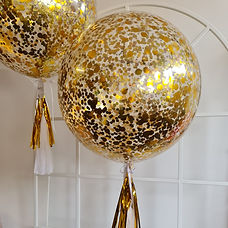 60cm Confetti Balloon - gold.jpg