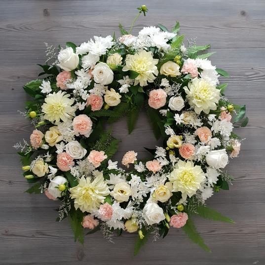 Funeral Wreath - White & peach.jpg