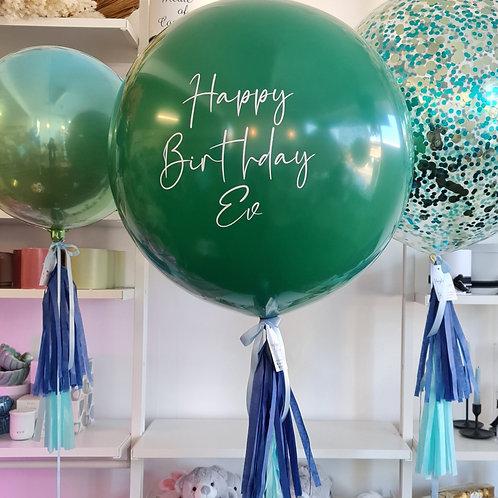 Forest Green Jumbo Balloon
