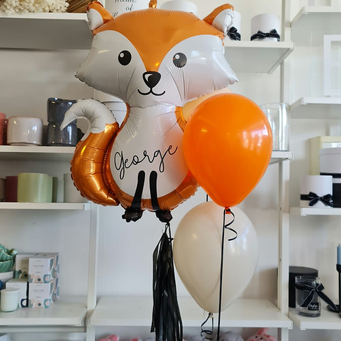 Woodland Animal Foil Balloons